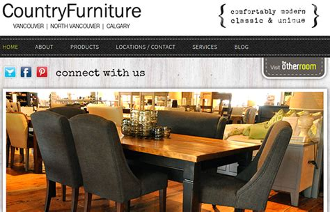 Modern Country Interiors Furniture In Vancouver Pizazz Gifts Country Furniture Store Flyers