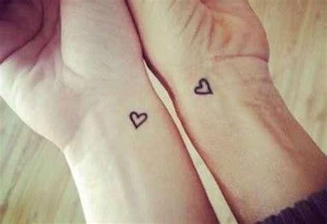 情侣纹身爱心图片大全 心心相印的爱情 纹身图案