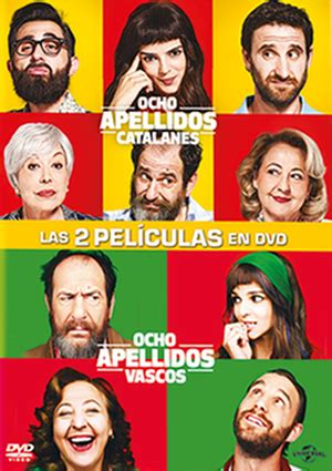 vasco dvd apellido s vascos ocho dvd pack 8 apellidos catalanes 8