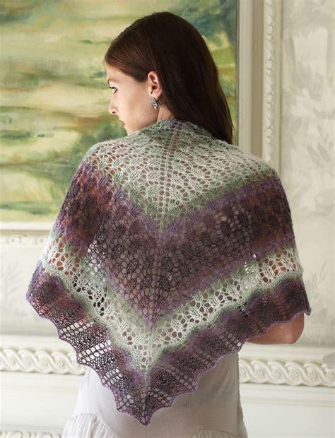 free knitting pattern hair net evening shadows shawl allfreeknitting com