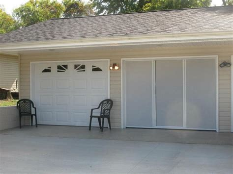 Overhead Garage Door Screens Lifestyle Screens Advanced Overhead Doors Llc