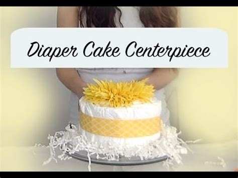 how to make a cake centerpiece