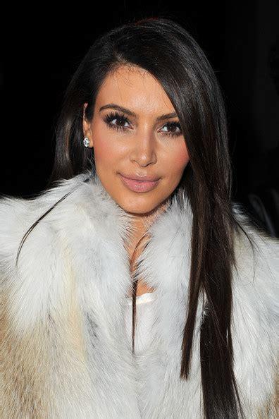 kim kardashian long straight cut kim kardashian looks