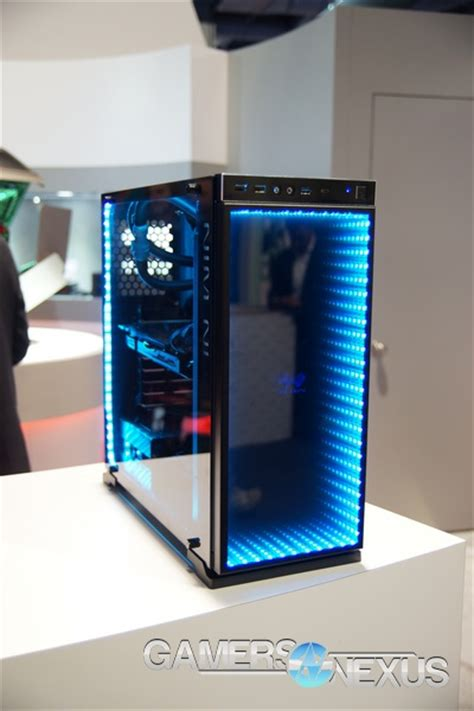 infinity mirror computer in win s artful cases infinitely mirrored 805 h frame