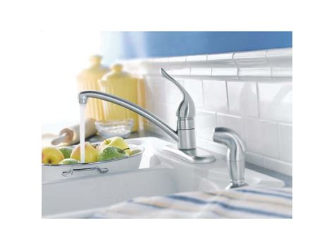 kitchen collection black friday faucet 7430 in chrome by moen