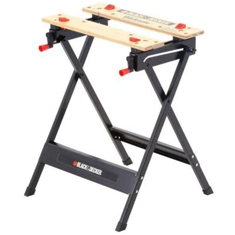 best workmate bench black decker workmate sawhorse and vise wm125 the home depot