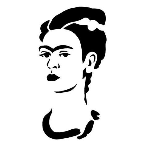Pumpkin Carving by Frida Kahlo Stencil Stencil Bibi Pinterest
