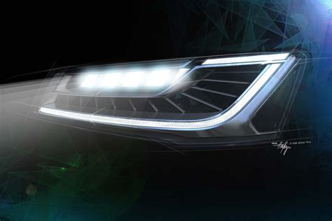 audi matrix headlights audi teases 2014 a8 facelift by showing new matrix