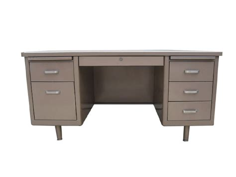 Used Metal Office Desk Used 30 X 60 Metal Tank Desk Arizona Office Furniture