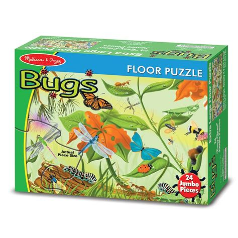 Floor Puzzles by Bugs 24 Pcs Floor Puzzle Educational Toys Planet