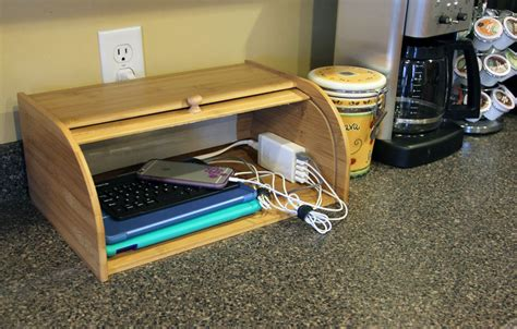 homemade charging station diy charging station organizer with usb hub german pearls