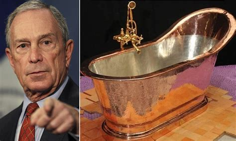 Bloomber Import mayor michael bloomberg imports 13 000 copper bathtub