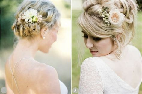 Wedding Hairstyles Using Flowers by 50 Wedding Hairstyles Using Flowers
