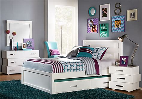 bedroom set for teens quake white 5 pc twin panel bedroom bedroom sets white