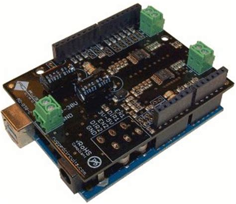 arduino rugged arduino shield list rugged circuits motor driver shield