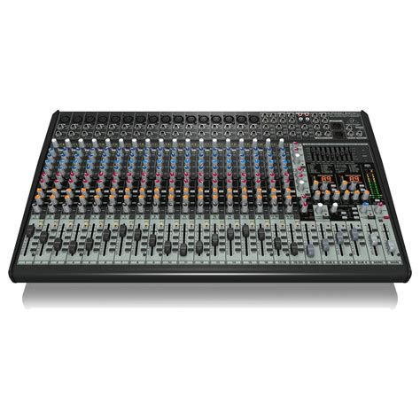 Mixer Audio Behringer 24 Channel behringer eurodesk sx2442fx 24 channel analog mixer at