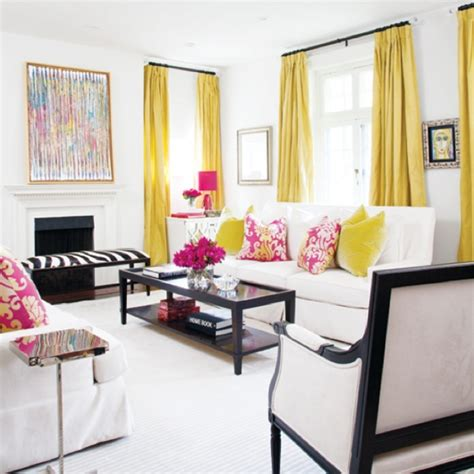 design love fest living room love the yellow drapes light and bright living room