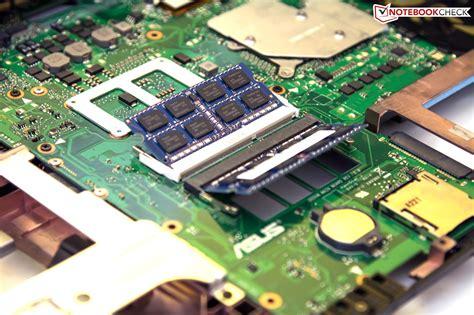 Slot Ram Laptop Asus X455l review asus g55vw s1020v notebook notebookcheck net reviews