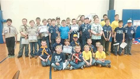 cub scout pack 69 holds pinewood derby