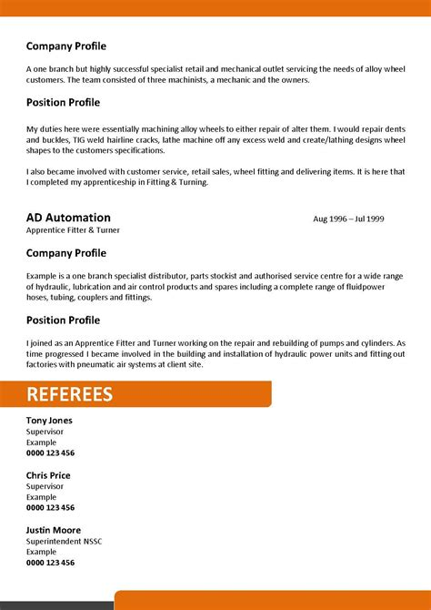 Maintenance Supervisor Resume Sample by We Can Help With Professional Resume Writing Resume