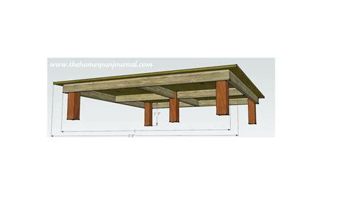 cool platform bed woodworking plans  big idea