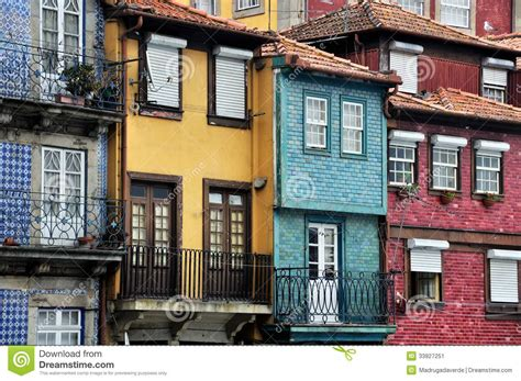 Porto Street, Portugal stock image. Image of architecture