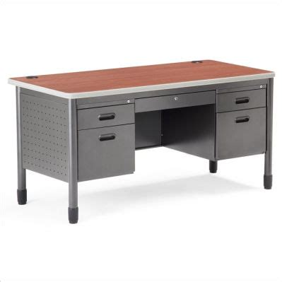 industrial metal desk furniture home design ideas