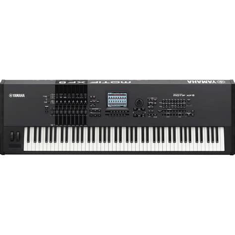 Keyboard Yamaha Motif yamaha motif xf8 keyboard workstation nearly new at gear4music