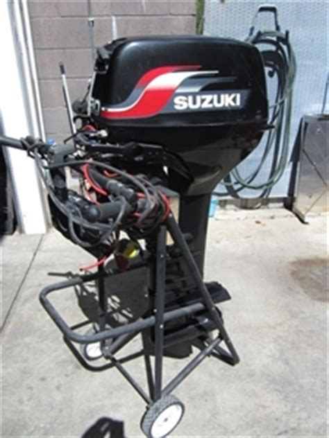 30 Hp Suzuki Outboard Suzuki 30hp Outboard Motor Auction 0015 5002306
