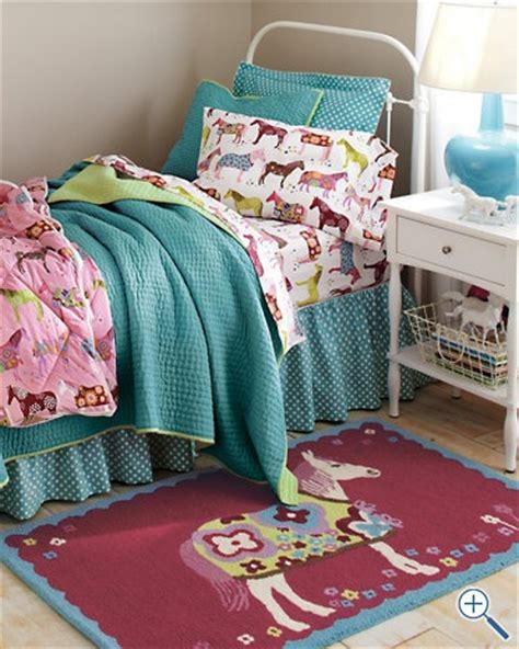 girl horse bedding horse bedding girls room pinterest