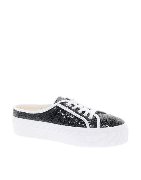 backless sneakers for kg kurt geiger kg mango glitter backless flatform