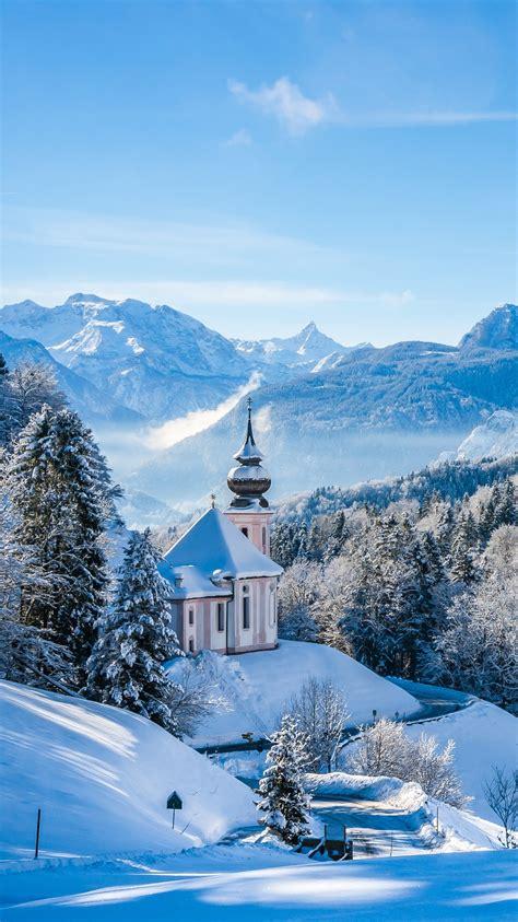 winter landscape  snow  ultra hd wallpaper