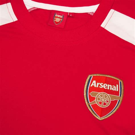 arsenal gifts arsenal fc official football gift boys poly training kit t