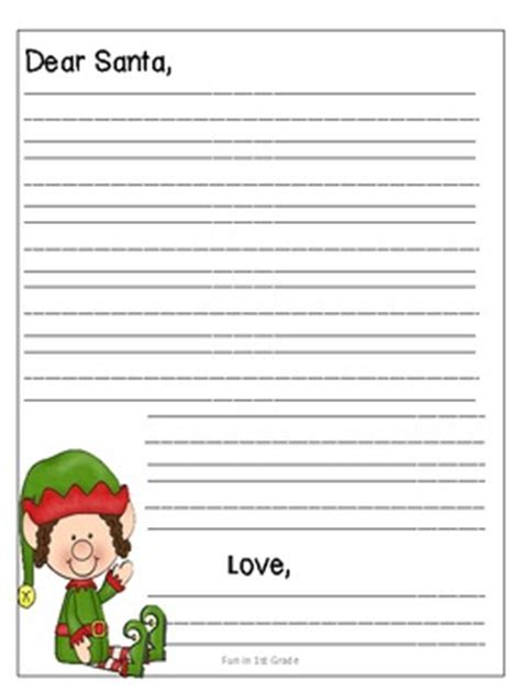 letter to santa template for teachers letter to santa template free by dana lester tpt