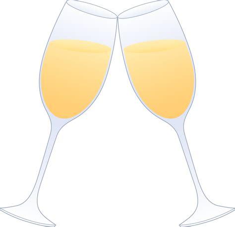 clinking glasses chagne glass clip art cliparts