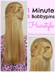 easy 1 minute knotted hairstyle in hairland
