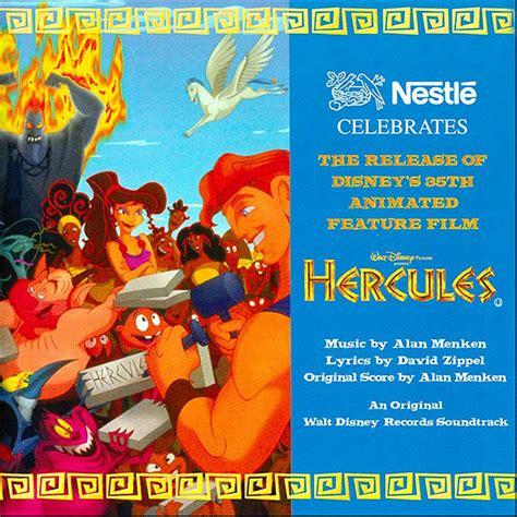 Paket Dvd Cd Original Sing Along Songs With Dibo hercules soundtrack details soundtrackcollector