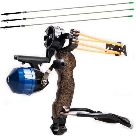 Slingshot Arrow high powerful fishing slingshot 3pcs arrow target