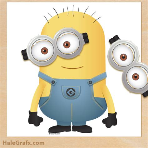 9 best images of printable despicable me goggles free