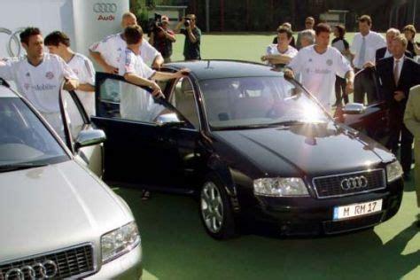 neue autos fuer bayerns wm spieler autobildde