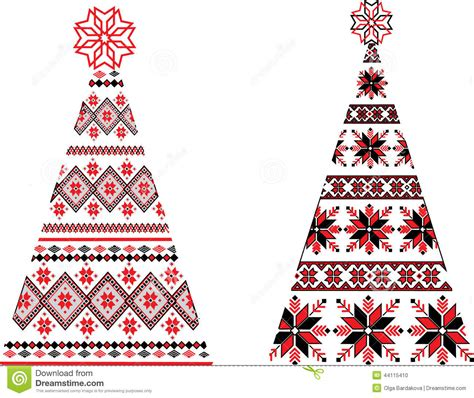 free printable ukrainian christmas cards ukrainian christmas trees stock illustration image of