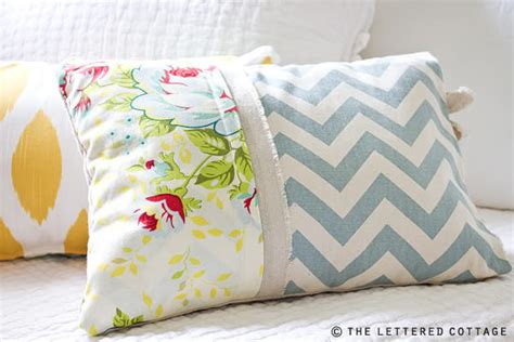 Diy Throw Pillow Projects The Budget Decorator How To Make Sofa Pillows