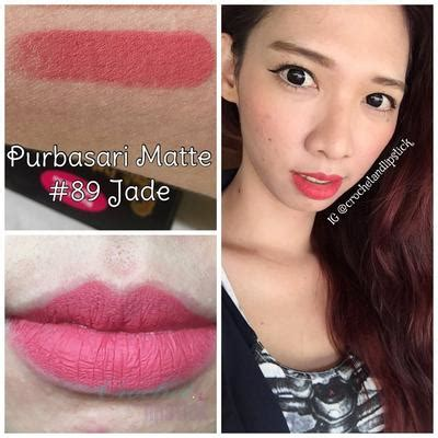 Warna Lipstik Wardah Matte Untuk Kulit Kuning Langsat 3 pilihan lipstik purbasari matte series untuk pemilik