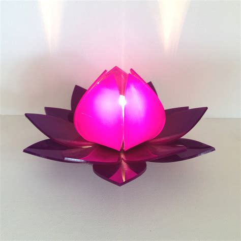 lotus flower l lighting and ceiling fans