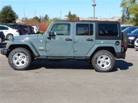 Jeep Wrangler 2014 Colors Anvil Autos Weblog