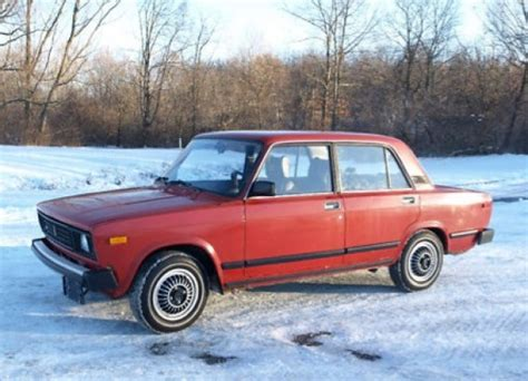 lada a sale 1984 lada 2105 sedan bring a trailer