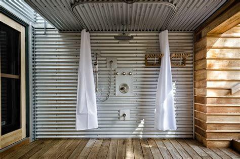 Corrugated Metal Ceiling Basement Industrial With Exposed Corrugated Metal Ceilings