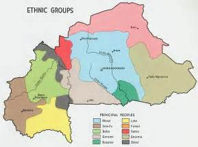 Ethnic Map Of Africa by Nationmaster Maps Of Burkina Faso 9 In Total