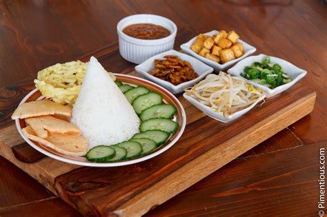 nasi lengko lengko rice pimentious