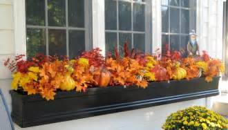 Artificial Plants For Window Boxes - fensterdeko f 252 r herbst und halloween 46 diy ideen